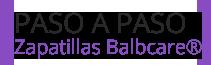 Zapatillas Balbcare